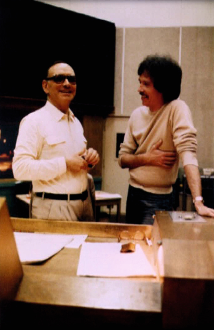 Ennio Morricone and John Carpenter