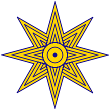 The Octagram or 8-Pointed Star of Ishtar